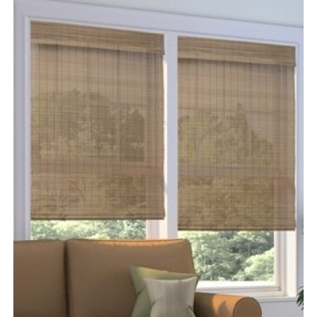 Platinum Cordless Woven Wood Shades