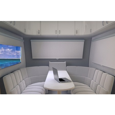 DIAMOND RV CORDLESS CELLULAR SHADES - gray