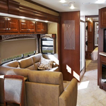 Platinum RV Roller Shades Blackout