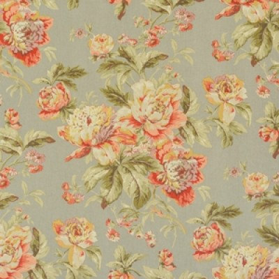 Foothill Collection Free Fabric Samples - Fleuretta Slate